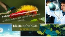 Parabéns a todos os Biólogos !!!