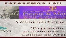"""Logotipo da atividade """"Bazar de Miniaturas no XXV Simpósio Regional IPAC"""""""