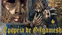 """Logotipo da atividade """"Mito: Epopéia de Gilgamesh"""""""