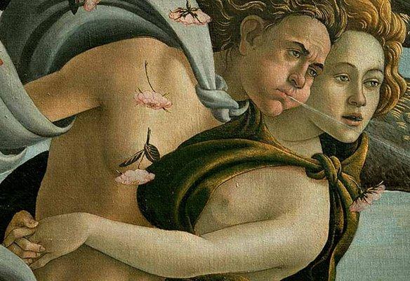 """Foto """"O Nascimento de Venus"""""""