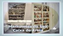 """Logotipo da atividade """"Caixa de Areia e Marionetes do Self: técnicas expressivas e psicologia simbólica"""""""