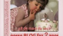 Aniversário | 2 anos do Blog da MARIANA